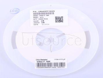 LIZ Elec CR0402FF1802G(100pcs)
