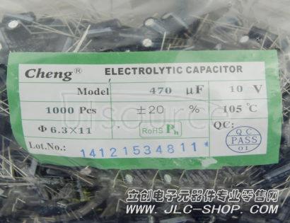 LCSC 470uF 10V