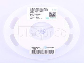 LIZ Elec CR0402FF1151G(100pcs)
