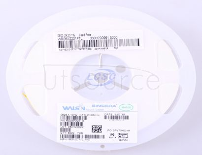 Walsin Tech Corp WR06X2201FTL(100pcs)