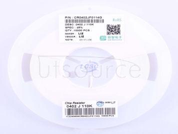 LIZ Elec CR0402JF0114G(100pcs)