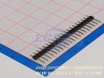 BOOMELE(Boom Precision Elec) 2.54mm 1*20P Straight Headers Pins(5pcs)