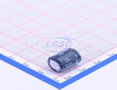 Nantong Jianghai Capacitor ECR1VLY331MLL100012(5pcs)