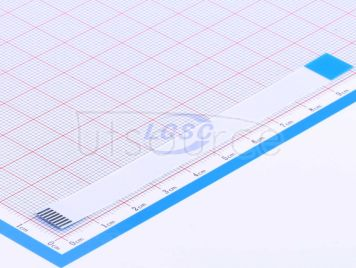 LX FFCCable 8P pitch1.0mm length10CM Reverse(10pcs)