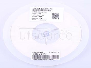 LIZ Elec CR0603JA0510G(100pcs)