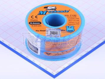 MECHANIC []Sn63/Pb37Solder WiresWZ-100 0.6[800G]