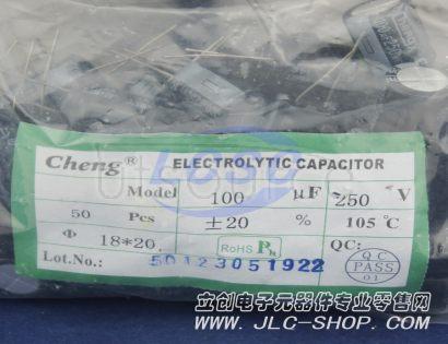 LCSC 100uF 250V