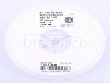 LIZ Elec CR1206F42800G(100pcs)