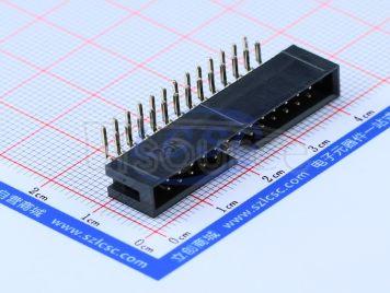 BOOMELE(Boom Precision Elec) 2.54mm 2*13P bend IDC Box