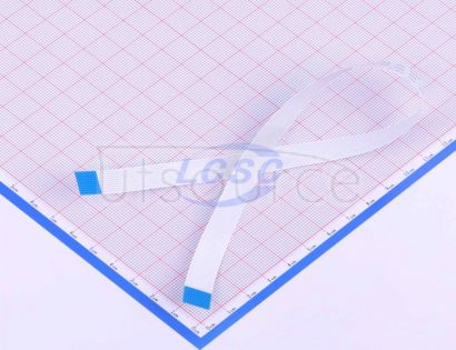 Made in China FFCCable 10P pitch1.0mm length30CM In the same direction