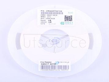 LIZ Elec CR0402FF2213G(100pcs)