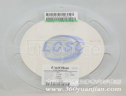 UNI-ROYAL(Uniroyal Elec) 0402WGJ0512TCE(100pcs)