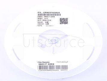 LIZ Elec CR0603FA2262G(100pcs)