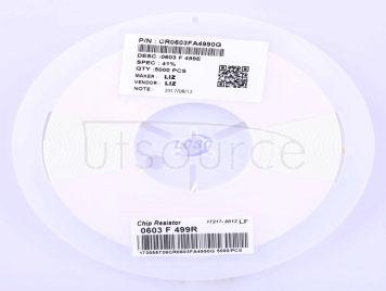 LIZ Elec CR0603FA4990G(100pcs)