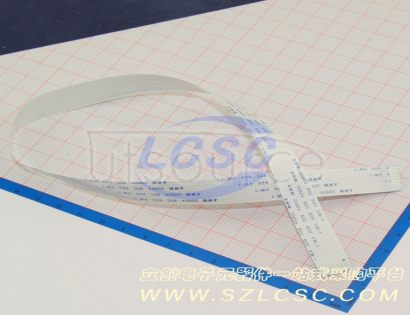 LX FFCCable 12P pitch1.0mm length40CM In the same direction(5pcs)