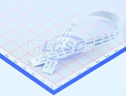 Made in China FFCCable 8P pitch1.0mm length20CM In the same direction(10pcs)