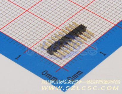 BOOMELE(Boom Precision Elec) 1.27mm1*10P Straight Headers Pins(10pcs)
