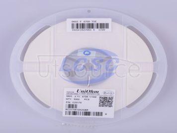 UNI-ROYAL(Uniroyal Elec) 0603WAF4700T5E(100pcs)