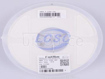 UNI-ROYAL(Uniroyal Elec) 0805W8F2700T5E(100pcs)