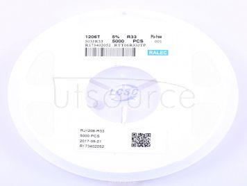 RALEC RTT06R33JTP(50pcs)