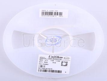 UNI-ROYAL(Uniroyal Elec) 0603WAF1150T5E(100pcs)