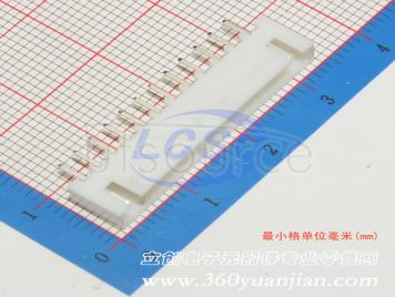 BOOMELE(Boom Precision Elec) XHB-12A ,12P,pitch2.5mm.With buckle.Straight line(10pcs)
