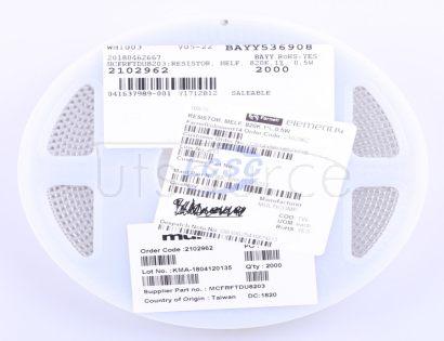 Multicomp MCFRFTDU8203