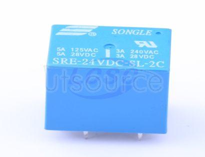 Ningbo Songle Relay SRE-24VDC-SL-2C