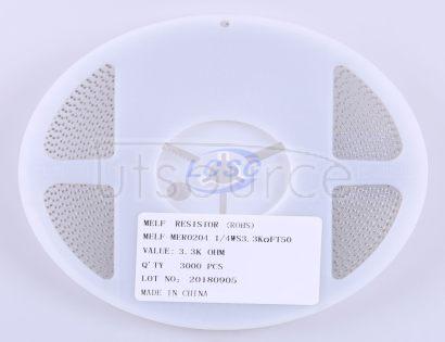 Thunder Component MElF-MFR02041/4WS3.3KΩFT50