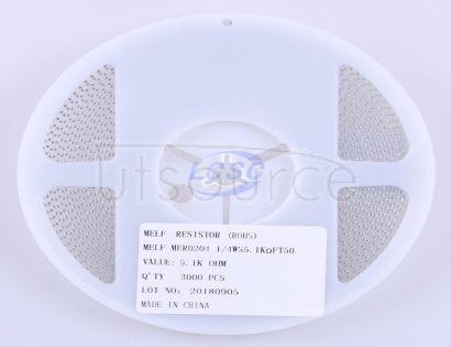 Thunder Component MElF-MFR02041/4WS5.1KΩFT50