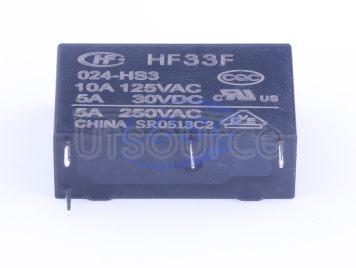 HF(Xiamen Hongfa Electroacoustic) HF33F/024-HS3