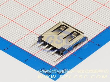 Jing Extension of the Electronic Co. USBConnector AF180degree13.1Straight iron Vinyl Not high temperature(10pcs)