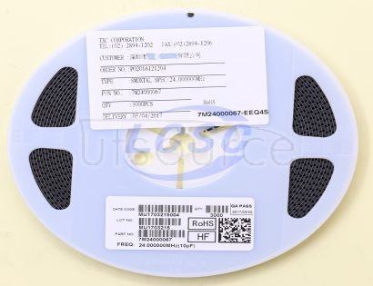 TXC Corp 7M2407LCSC-EEQ4S