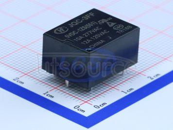 HF(Xiamen Hongfa Electroacoustic) JQC-3FF/005-1ZS(551)