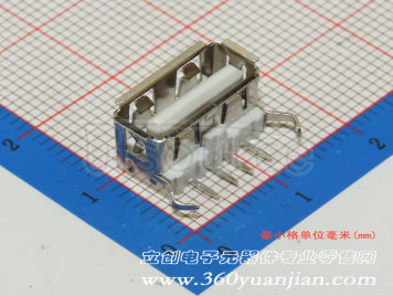 Jing Extension of the Electronic Co. A/F90 ReversePBTWhite plastic Not high temperature(10pcs)