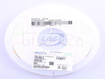 Walsin Tech Corp WW06WR430FTL(50pcs)