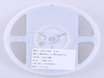 Thunder Component MELF-MFR02041/4WS15ΩFT50(20pcs)