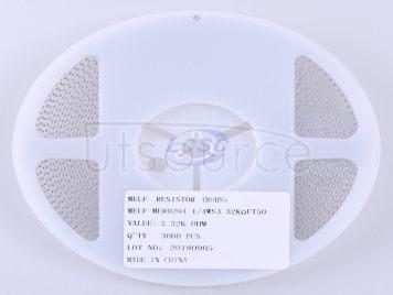 Thunder Component MELF-MFR02041/4WS3.32KΩFT50(20pcs)