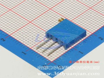 Made in China 3296X-1-103(5pcs)