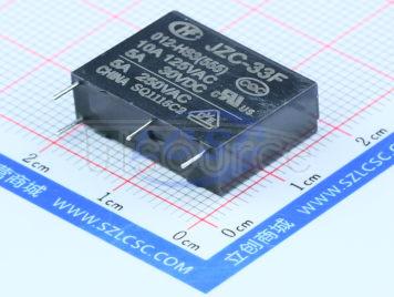 HF(Xiamen Hongfa Electroacoustic) JZC-33F/012-HS3(555)