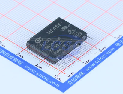 HF(Xiamen Hongfa Electroacoustic) HF46F/5-HS1