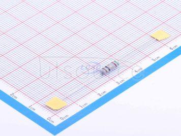 CCO(Chian Chia Elec) NKNP1/2W-1Ω±2%(20pcs)