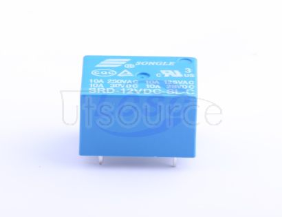 Ningbo Songle Relay SRD-12VDC-SL-C blue