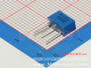 Made in China 100Ω ±10% ±250ppm/℃(5pcs)