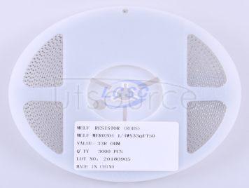 Thunder Component MELF-MFR02041/4WS33ΩFT50(20pcs)