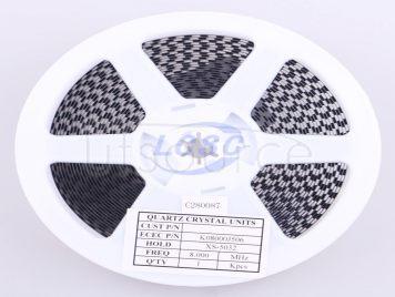 ECEC(ZheJiang E ast Crystal Elec) K08000J506
