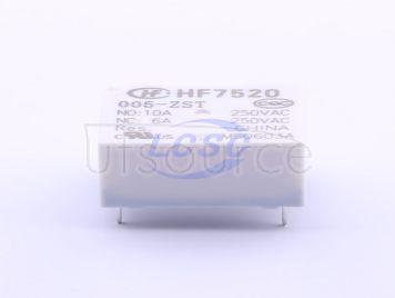 HF(Xiamen Hongfa Electroacoustic) HF7520-005-ZST