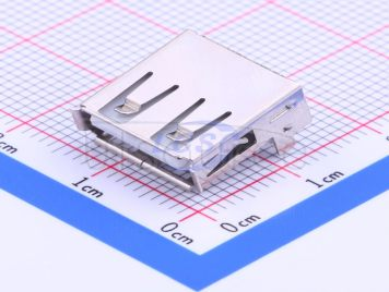 Jing Extension of the Electronic Co. A/F90No back cover straight foot8.6 PBT White plastic Not high temperature(20pcs)