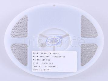 Thunder Component MELF-MFR02041/4WS2ΩFT50(10pcs)