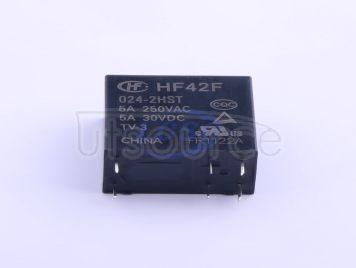 HF(Xiamen Hongfa Electroacoustic) HF42F/024-2HST